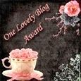 One lovely blog award offeto da Maria Rosa