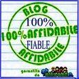 Blog 100% affidabile \Blog 100 % fiable