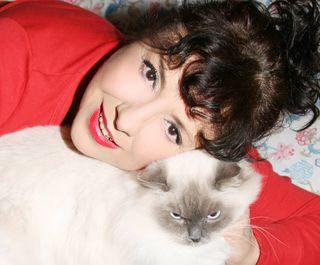 Manuela con Odette