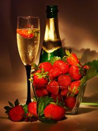7 fragole e champagne