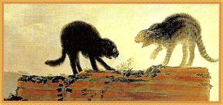 11 Francisco-Goya-Gatti-che-litigano