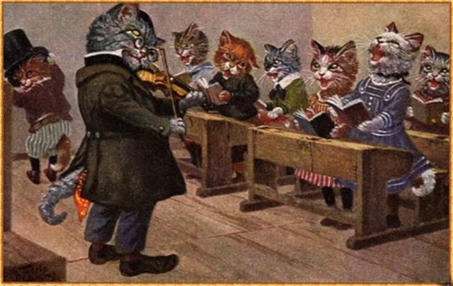 5 leçon de  miaulement