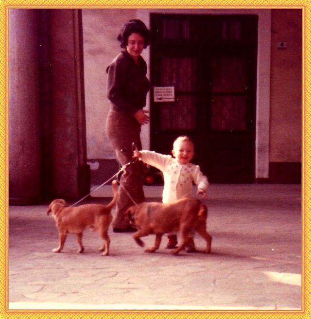 io, Elia, Nani e Speedy 1982